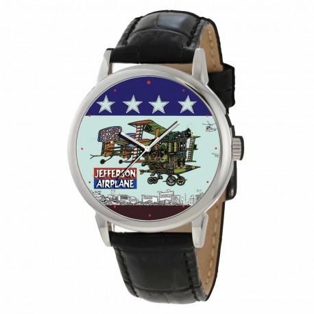 Jefferson Airplane / Starship Gents Steel Collectible Wrist Watch