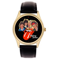 Rolling Stones Anniversary Original Art Collectible Commemorative Wrist Watch