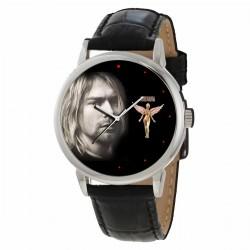 Kurt Cobain Nirvana Intense! Collectible Solid Brass Pop Art Wrist Watch