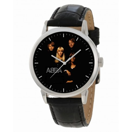 ABBA Collectible Pop Art Collectible Large 40 mm Classic Wrist Watch