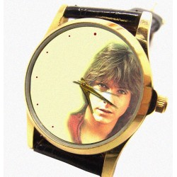David Cassidy Beautiful 30 mm Collectible Solid Brass Wrist Watch