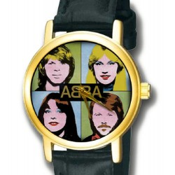 ABBA Collectible Pop Art Collectible Ladies Warholesque Wrist Watch