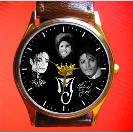 MICHAEL JACKSON - Collectible Unisex Wrist Watch