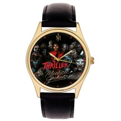 Michael Jackson, Special Thriller Anniversary Edition Solid Brass Wrist Watch