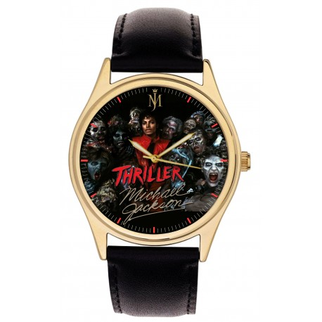 "Michael Jackson, The ""King of Pop"" Comemmorative Wrist Watch"