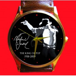 MICHAEL JACKSON - Collectible Tribute Unisex Wrist Watch