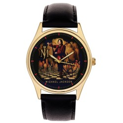 Collector's Edition: Michael Jackson Blood on the Dance Floor Art Wrist Watch