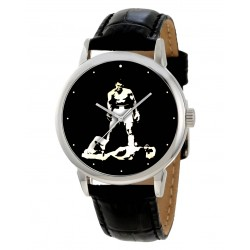 Muhammad Ali / Cassius - Classic Collectible Solid Brass Boxing Art Wrist Watch