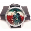 Ayatollah Khomeini Iranian Islamic Revolution Poster Art Collectible Shia Islam Wrist Watch