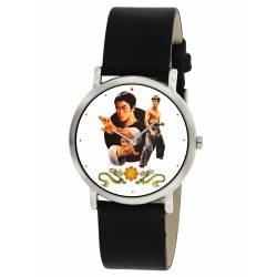Bruce Lee Kung Fu Kungfu Eye-Catching Chinese Art 30 mm Boys' Wrist Watch