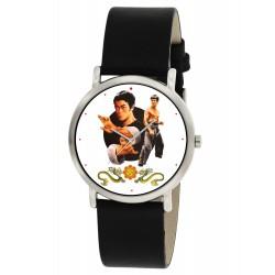 Bruce Lee Kung Fu Kungfu Eye-Catching Chinese Art 30 mm Boys' Wrist Watch