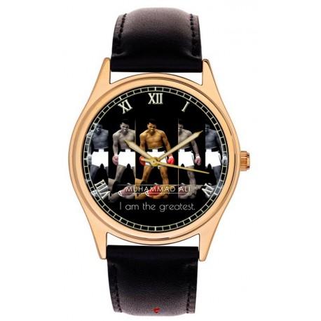MUHAMMAD ALI - Warholesque Art Commemorative Wrist Watch