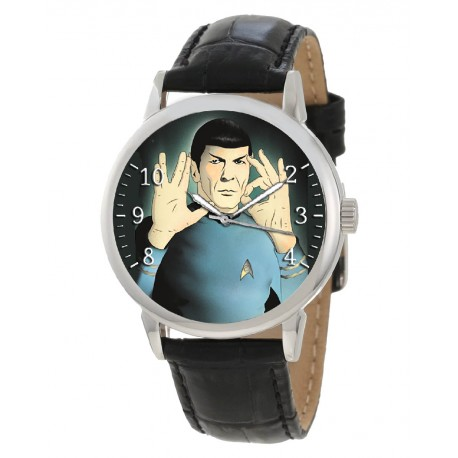 The Legend of Spock. Live Long & Prosper, 50th Anniversary Star Trek Collectible Wrist Watch