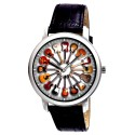 Circle of Guitars, Classic Rock Art Every Guitarist's Collectible Wrist Watch. 40 mm. Brass.