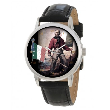 Garibaldi Wrist Watch Italian Nationalism. Orologio da polso nasionalismo italiano