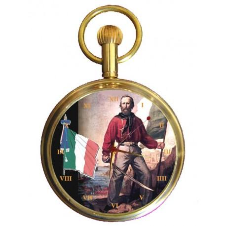 Garibaldi Pocket Watch Italian Nationalism. Orologio da tasca nasionalismo italiano