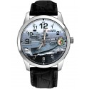 HMS Queen Elizabeth Royal Navy Aircraft Carrier Naval Art Collectible Wrist Watch
