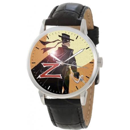 The Legend of Zorro, Original Postmodern Hispanic Art Collectible Wrist Watch