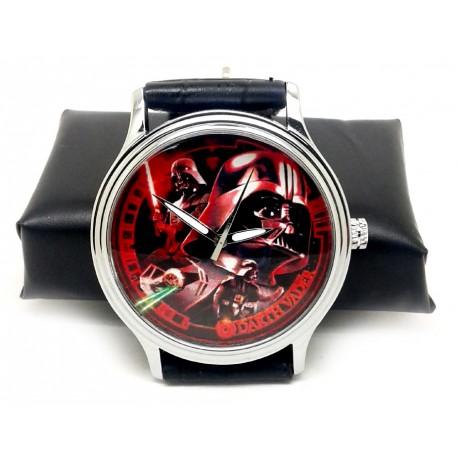 Lord Darth Vader Crimson Art Star Wars Collectible Wrist Watch