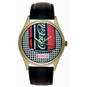 Roy Lichtenstein Inspired Coca Cola Pop! Art Collectible Wrist Watch