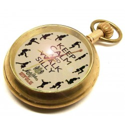 Monty Python Ministry of Silly Walks Collectible Swiss Pocket Watch
