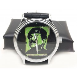 Saddam Hussein as Che Guevera Vintage Baath Party Propaganda Art Wrist Watch