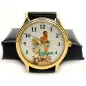 Vespa Vintage Italian Scooter Art Wrist Watch. Orologio. 40 mm. Collectible.
