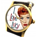 Here's Lucy! Vintage Collectible Lucille Ball 1950a Fan Art Unisex Wrist Watch
