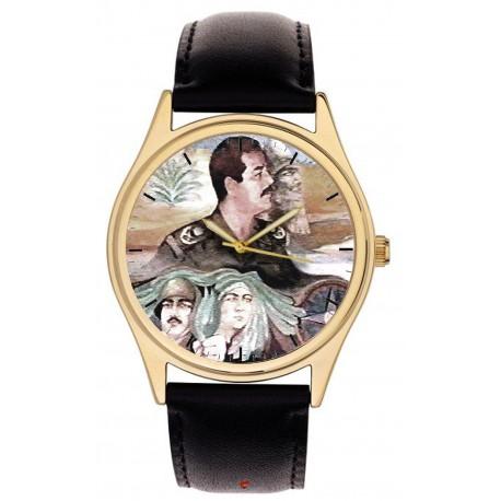 Saddam Hussein As Nebuchadnezzar Iraqi Baath Party Propaganda Collectible Wrist Watch