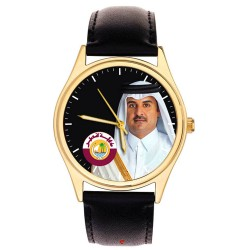 H.E. Sheikh Tamim Bin Hamad Al Thani, Young & Dynamic Emir of Qatar Collector Edition Wrist Watch, تميم بن حمد ال ثاني ‎‎
