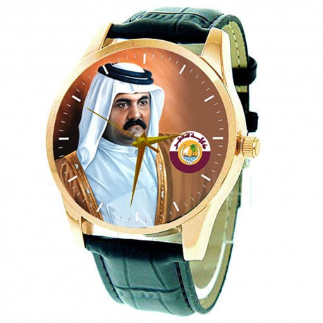 H.E. Sheikh Hamad bin Khalifa Al Thani Emir of Qatar Collectible Wrist Watch … الشيخ حمد بن خليفة آل ثاني‎‎