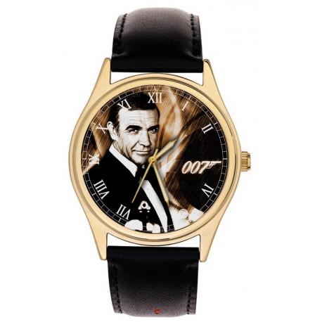 Sean Connery The Original 007 James Bond Movie Art Collectible Wrist Watch