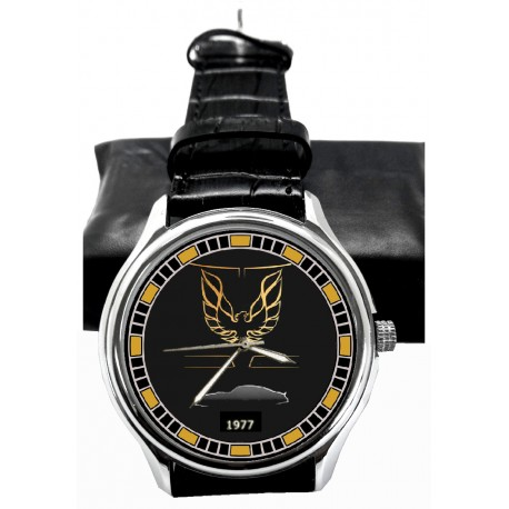 Smokey and the Bandit Trans Am Pontiac Hollywood Racing Art Wrist Watch