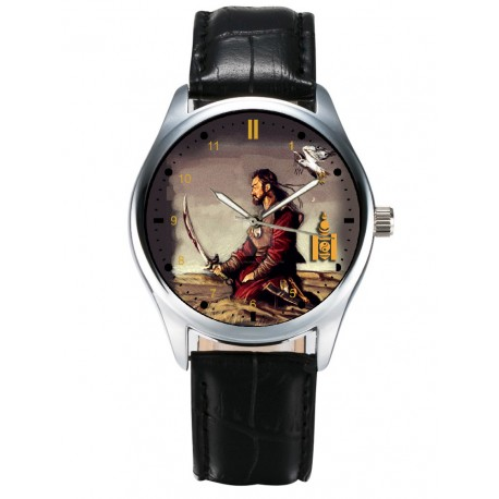 Rare, The Great Khan, Chengiz Khan / Genghis Khan Collectible Wrist Watch