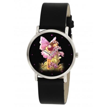 HELIOTROPE - CECILY MARY BARKER Original Art Flower Fairy Wrist Watch