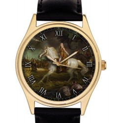 Beautiful Game of Thrones Collectible Wrist Watch. 40 mm Unisex / Boyfriend Size. Classic Equestrian Art.