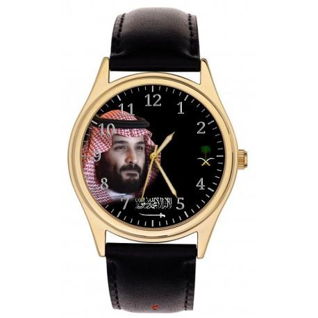 Prince Mohammed bin Salman. Wrist Watch. معالي الأمير محمد بن سلمان المملكة العربية السعودية المعصم ووتش
