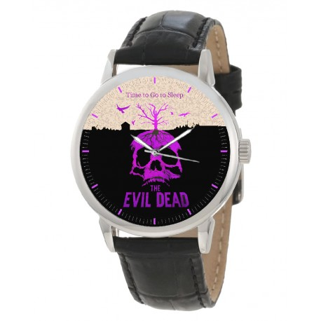 The Evil Dead Vintage Hollywood Horror Cult Art Collectible Wrist Watch