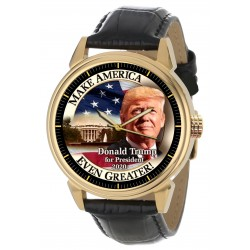 The Donald Trump Presidential Watch - 2020 Presidential Campaign Classic Art Wrist Watch