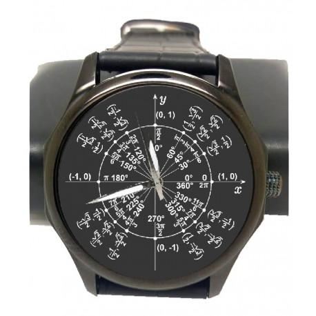 Radian Math Circle Mathematics Art Wrist Watch