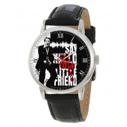 Scarface, Al Pacino, Vintage Hollywood Cult Art Collectible Wrist Watch