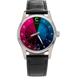 Circle of Fifths, Classic Music Notation Large Format 40 mm Collectible Wrist Watch.