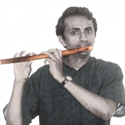 "13"" Carnatic Bansuri Bamboo Flute Venu Pulangoil. Easy To Play Tunemaker"