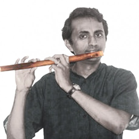 "13"" CARNATIC BANSURI BAMBOO FLUTE VENU PULANGOIL. EASY TO PLAY TUNEMAKER"