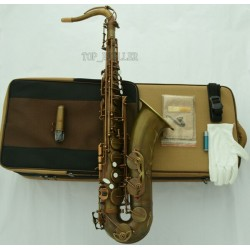 Tenor Saxophone VI Model Sax With Case Professional Brown Color Antique