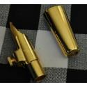 Perfect Metal Alto Saxophone Mouthpiece Gold Size 5-9