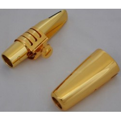 Professional Metal Mouthpiece For Alto Saxophone sax Gold Plated Size 5-9