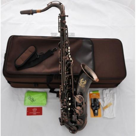 Professional Superbrass Tenor Saxophone Red Antique Finish Bb Sax High F#