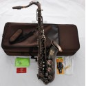 Professional Superbrass Tenor Saxophone Red Antique Finish Bb Sax High F#