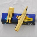 sale promotion!! Top Gold Plated Eb Baritone Saxophone Metal Mouthpiece new